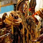Donghuamen Night Market – Spiders and scorpions and snakes oh my!