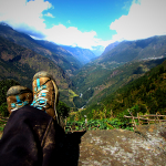 Everest Trek Day 6: Bupsa to Surke – Farts, stubborn donkeys, and valley views