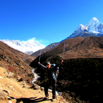 Everest Trek Day 11: Tengboche to Dingboche – Nasty neighbors and private guesthouses