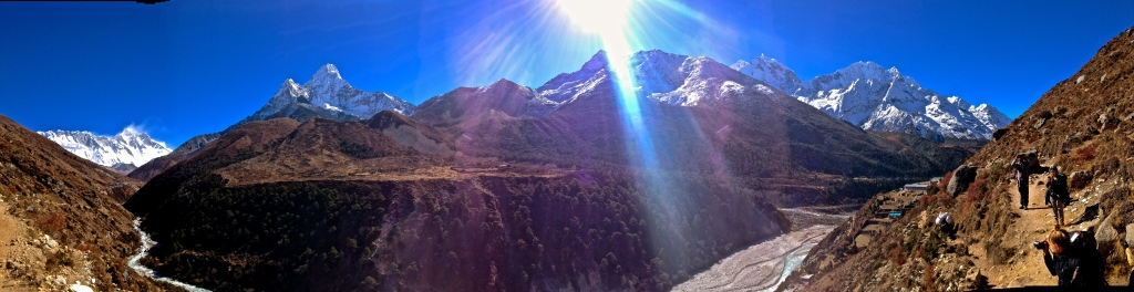 Road from Namche