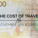 The Cost of Travel – November 2015 roundup