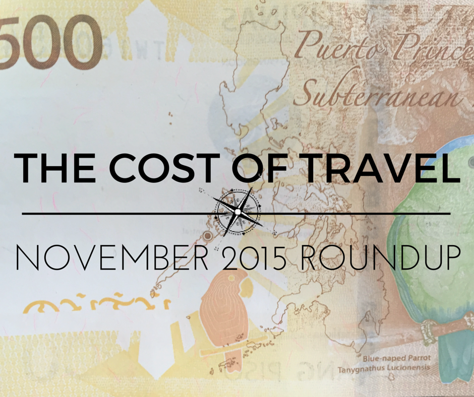 The cost of travel november 2015 roundup home behind for Cost of world cruise
