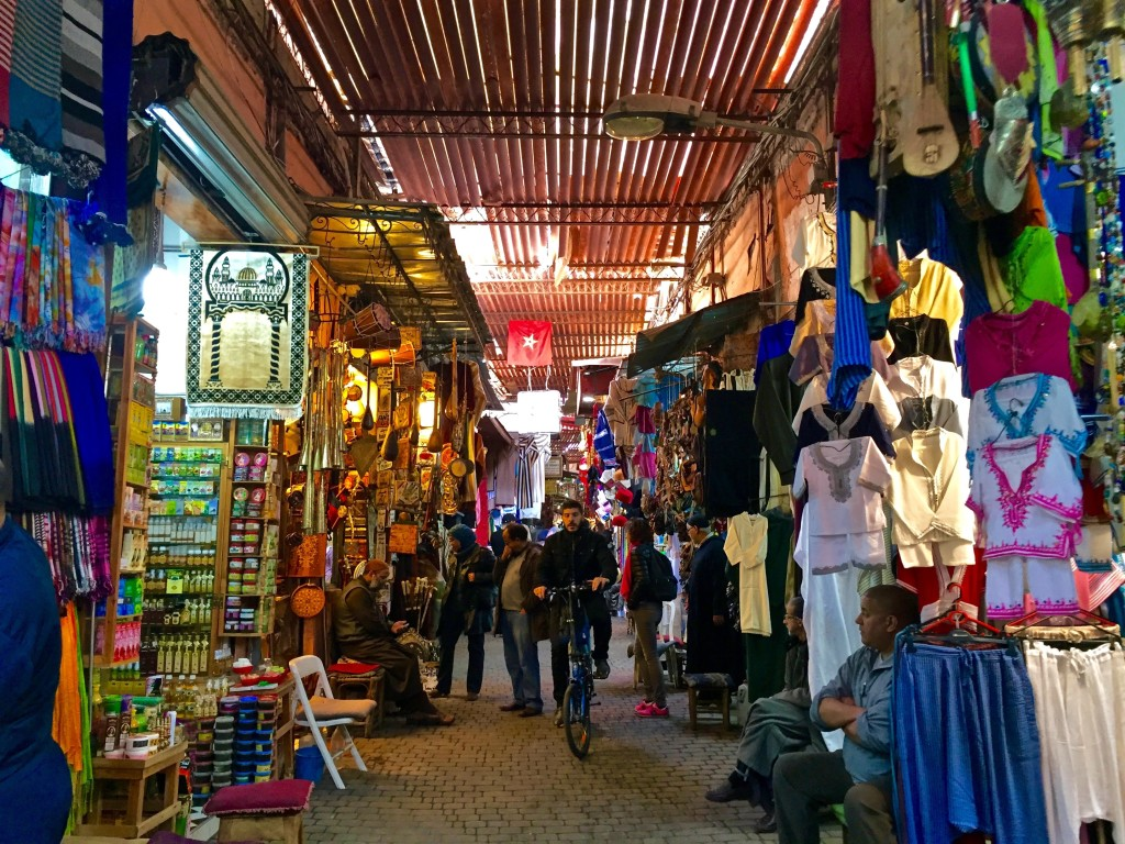 travel cost - other - morocco - souks