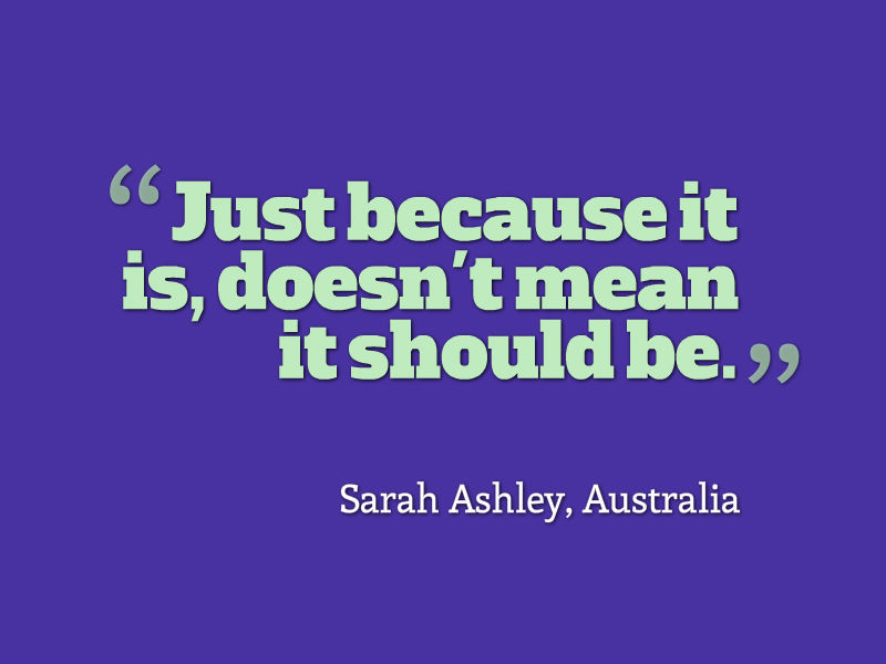 1000 Vindictive Quotes On Pinterest: Quote Of The Week: Just Because It Is, Doesn't Mean It